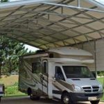 Carport with Camper