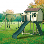 Playset in Yard