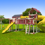 Yellow and Red Playset