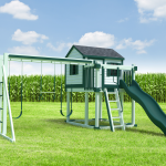 Playset with Cornfield